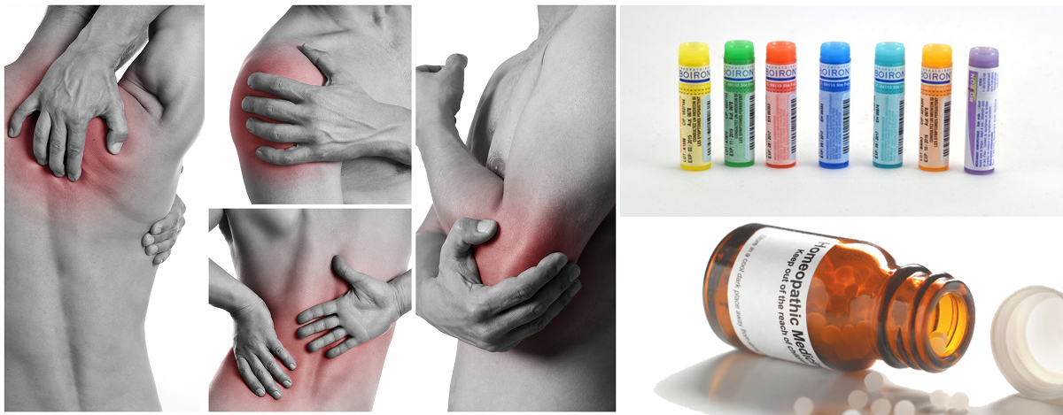 Homeopathy remedies for body pain