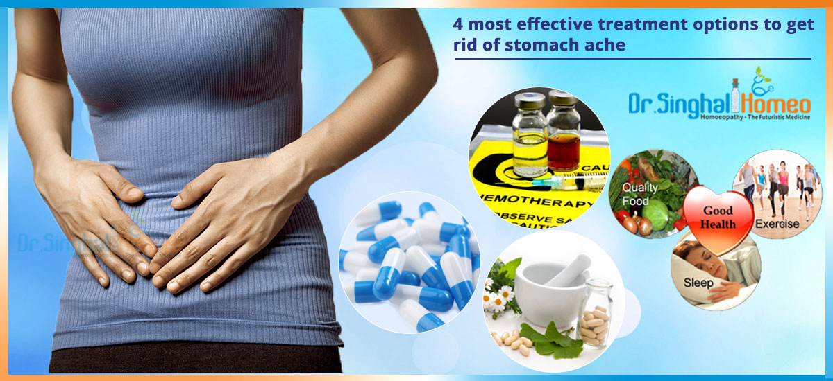 Treatment To Get Rid Of Stomach Ache